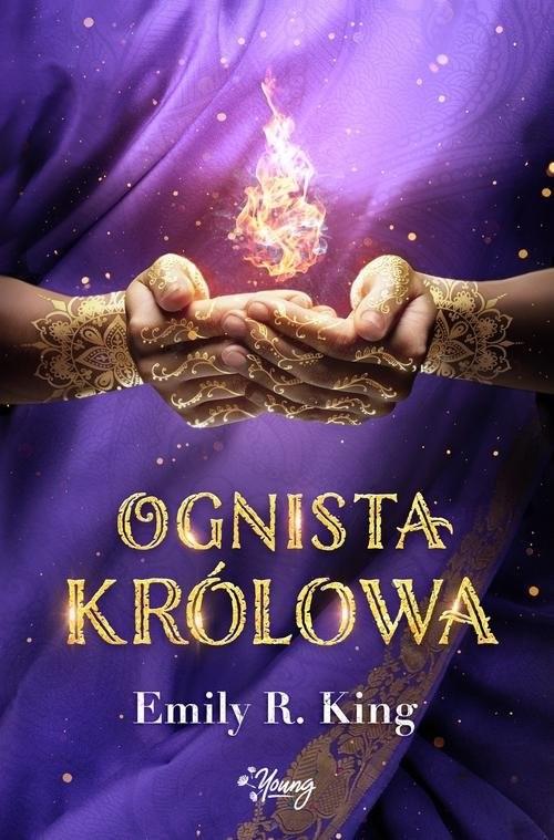 okładka Ognista królowa Tom 2, Książka | King Emily