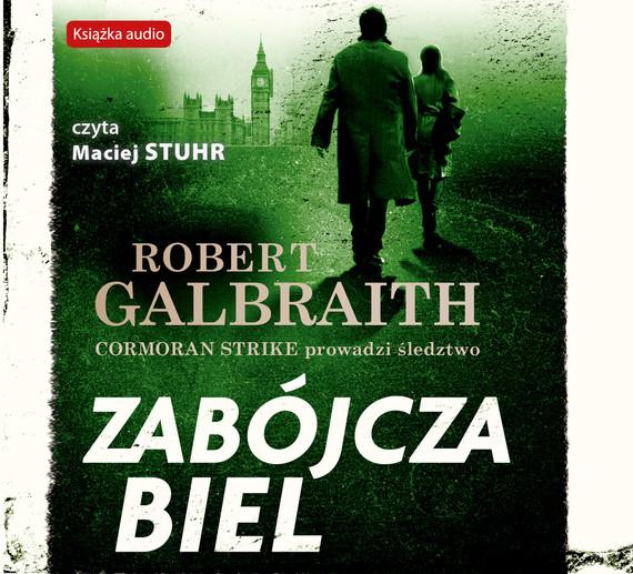 okładka Zabójcza biel, Audiobook | Robert Galbraith