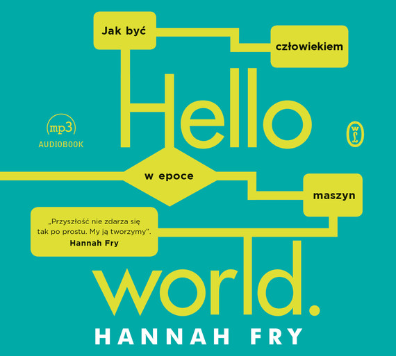 okładka Hello worldaudiobook | MP3 | Hannah Fry