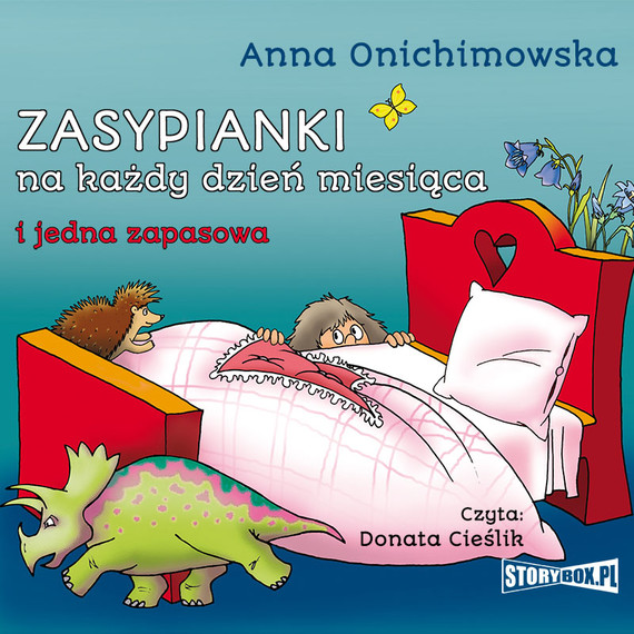 okładka Zasypianki na każdy dzień miesiącaaudiobook | MP3 | Anna Onichimowska