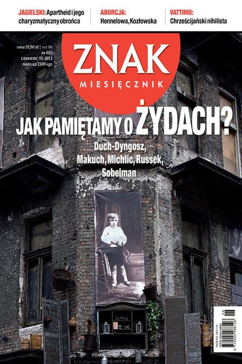 okładka Miesięcznik ZNAK nr 685 (6/2012), Ebook | autor zbiorowy