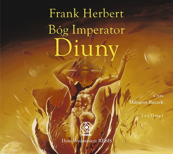 okładka Bóg Imperator Diunyaudiobook | MP3 | Frank Herbert