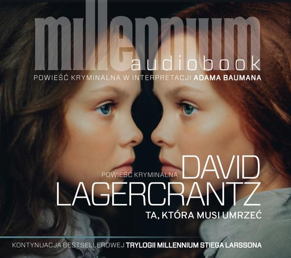 okładka Ta, która musi umrzeć, Audiobook | David Lagerkrantz