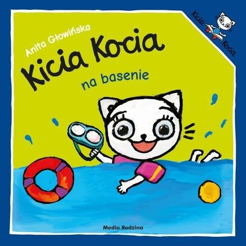 okładka Kicia Kocia na basenieksiążka |  | Anita Głowińska