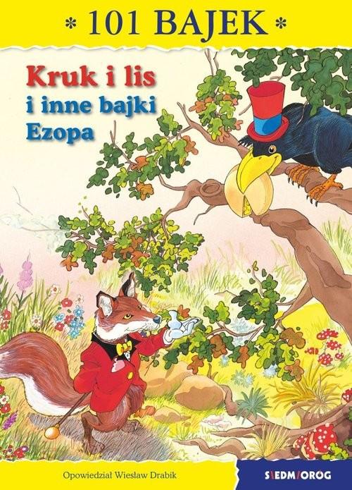 okładka Kruk i lis 101 bajek, Książka | de La Fotaine Jean