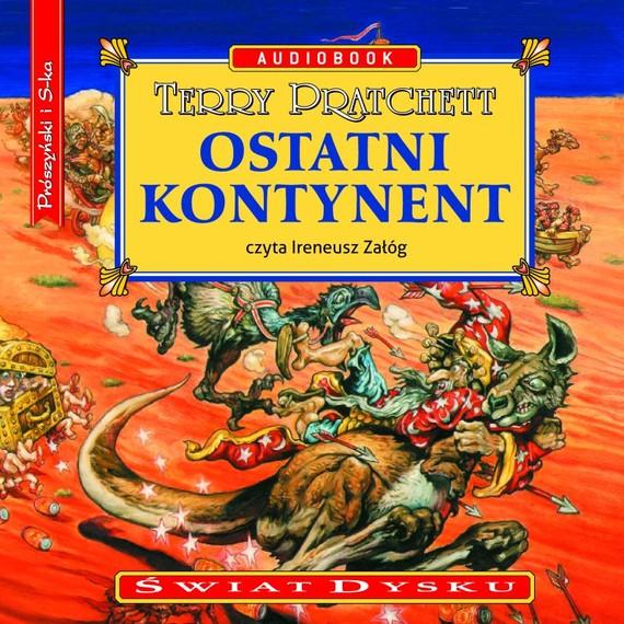 okładka Ostatni kontynent, Audiobook | Terry Pratchett