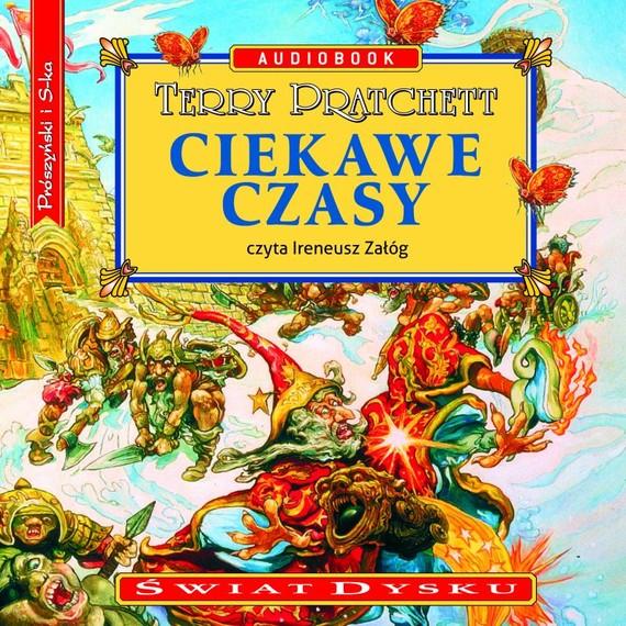 okładka Ciekawe czasyaudiobook | MP3 | Terry Pratchett