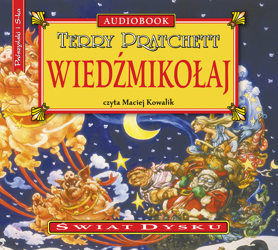 okładka Wiedźmikołaj, Audiobook | Terry Pratchett
