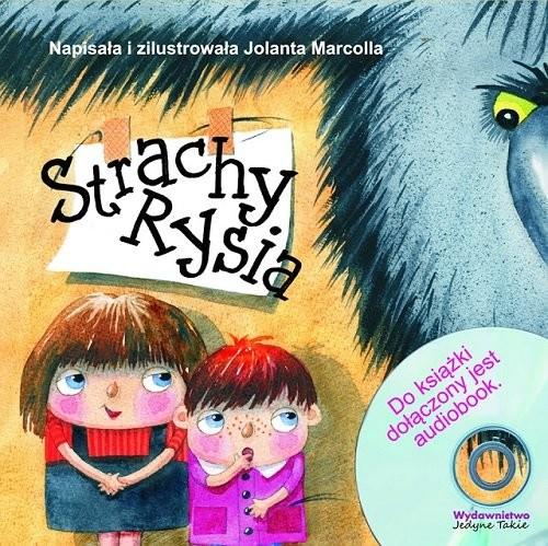 okładka Strachy Rysia + CD, Książka | Marcolla Jolanta
