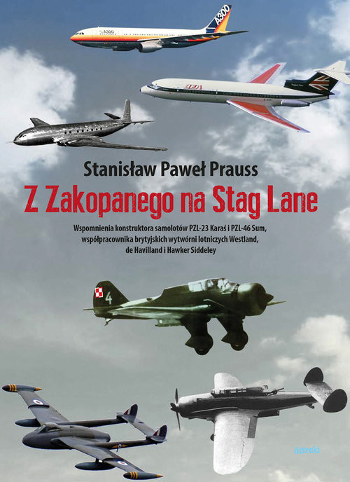 okładka Z Zakopanego na Stag Lane, Książka | Paweł Prauss Stanisław