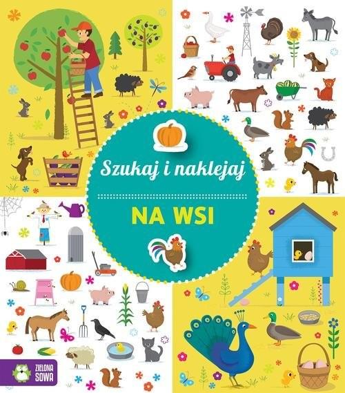 okładka Szukaj i naklejaj Na wsi, Książka | Praca Zbiorowa