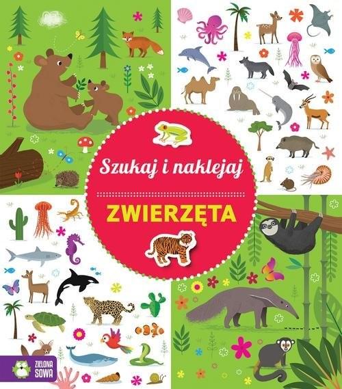 okładka Szukaj i naklejaj Zwierzęta, Książka | Praca Zbiorowa