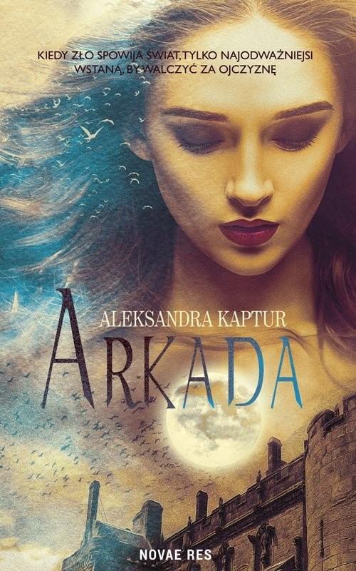 okładka Arkada, Książka | Aleksandra Kaptur