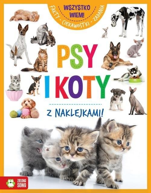 okładka Wszystko wiem! Psy i koty, Książka |