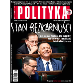 okładka AudioPolityka Nr 40 z 2 października 2019 rokuaudiobook | MP3 | Polityka