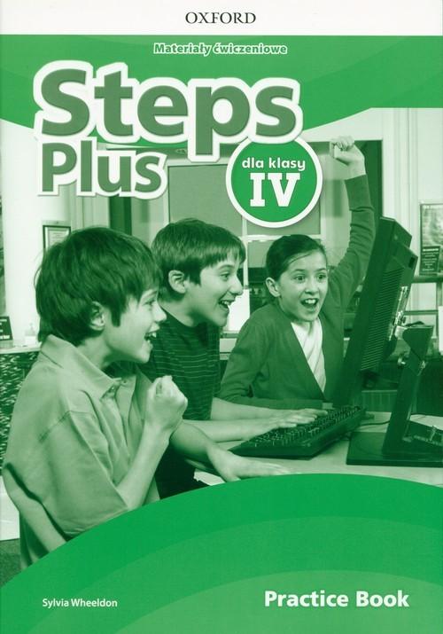 okładka Steps Plus 4 Materiały ćwiczeniowe Practice Book Szkoła podstawowaksiążka |  | Wheeldon Sylvia