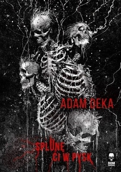 okładka Splunę ci w pysk, Książka | Deka Adam