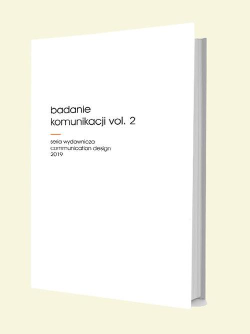 okładka Badanie komunikacji vol. 2, Książka | null