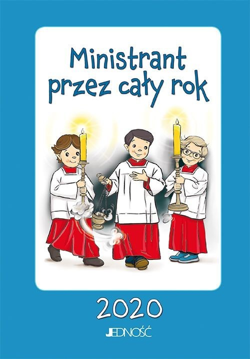 okładka Ministrant przez cały rok 2020, Książka |