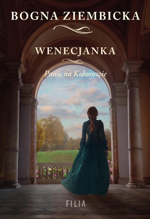 okładka Wenecjanka Wielkie Litery, Książka | Bogna Ziembicka