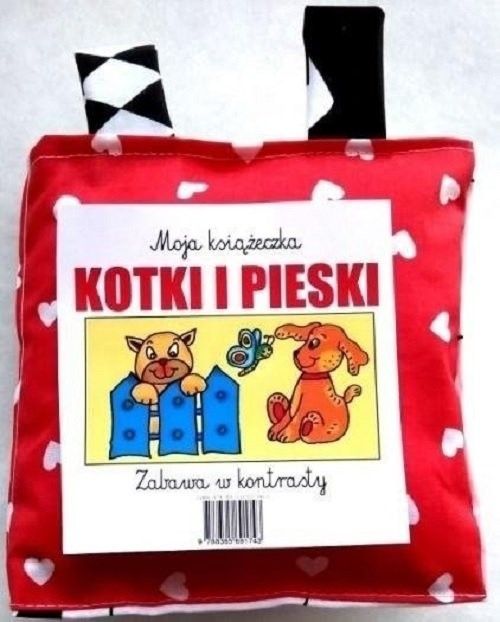 okładka Kotki i pieski Zabawa w kontrasty / Love Books, Książka | Praca Zbiorowa