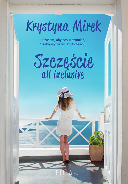 okładka Szczęście all inclusive Wielkie Litery, Książka | Krystyna Mirek
