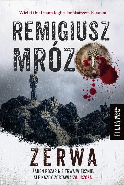 okładka Zerwa Wielkie Litery, Książka | Remigiusz Mróz