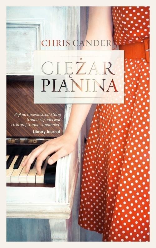 okładka Ciężar pianina, Książka | Cander Chris