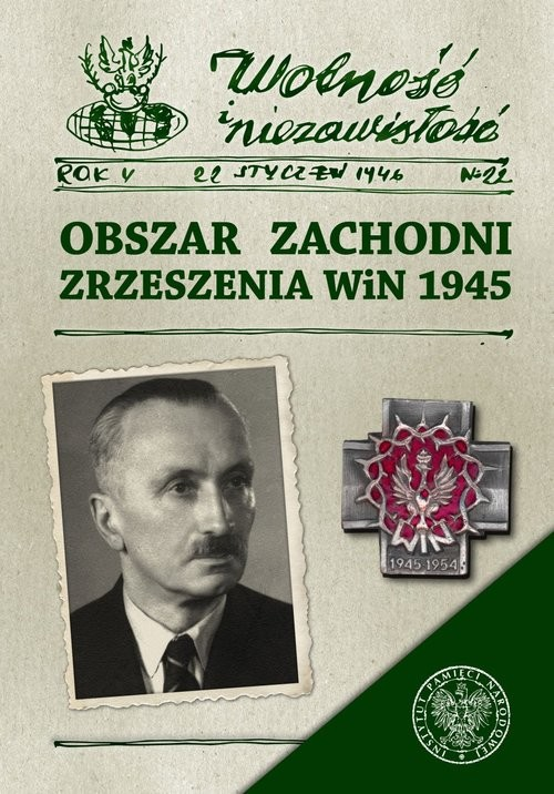 okładka Obszar Zachodni Zrzeszenia WiN 1945, Książka  