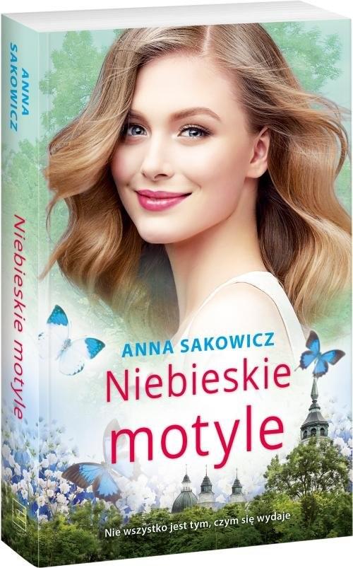 okładka Niebieskie motyle, Książka   Anna Sakowicz