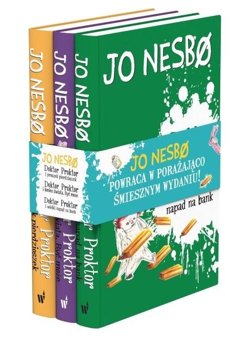 okładka Pakiet Doktor Proktor, Książka | Nesbo Jo
