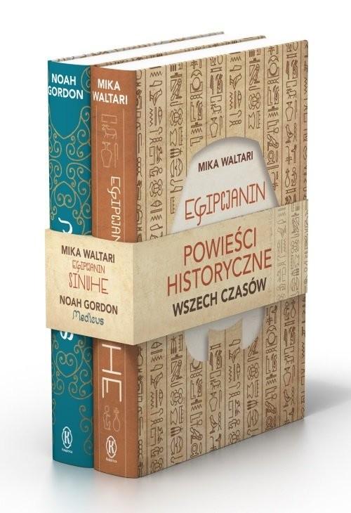 okładka Pakiet Powieści historyczne Medicus / Egipcjanin Sinuhe, Książka | Noah Gordon, Mika Waltari