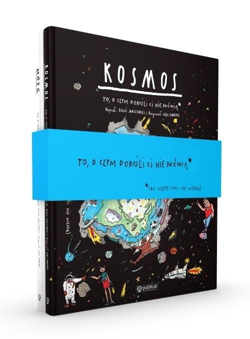 okładka Pakiet: Kosmos / Mózg. To, o czym dorośli ci nie mówią, Książka | Boguś Janiszewski, Max Skorwider
