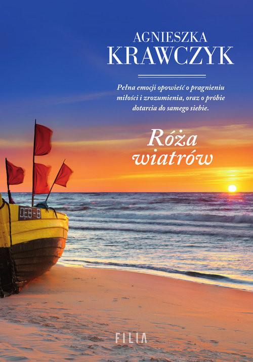 okładka Róża wiatrów Wielkie Litery, Książka | Agnieszka Krawczyk