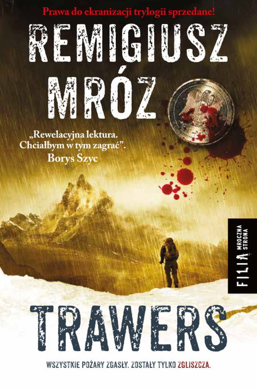 okładka Trawers Wielkie Litery, Książka | Remigiusz Mróz