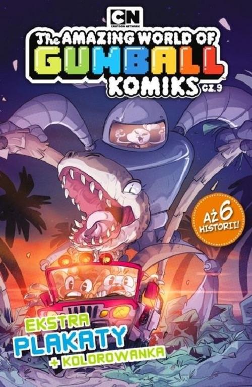okładka Gumball. Komiks. 9. Gumball Komiks nr 9, Książka | Opracowanie zbiorowe
