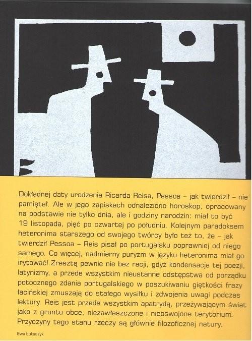 okładka Poezje zebrane Ricardo Reisksiążka |  | Pessoa Fernando