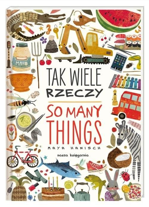 okładka Tak wiele rzeczy So Many Things, Książka | Hanisch Maya