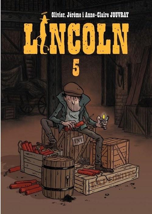 okładka Lincoln 5książka      Olivier Jouvray, Jerome, Anne-Claire
