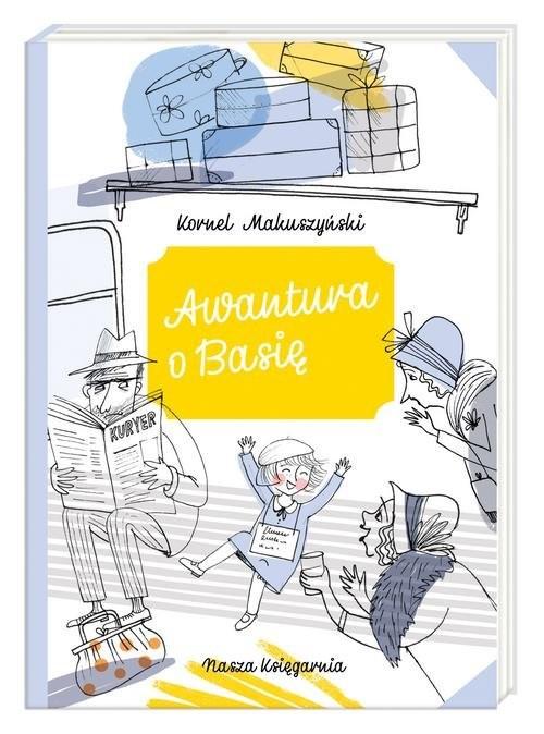 okładka Awantura o Basię, Książka | Makuszyński Kornej