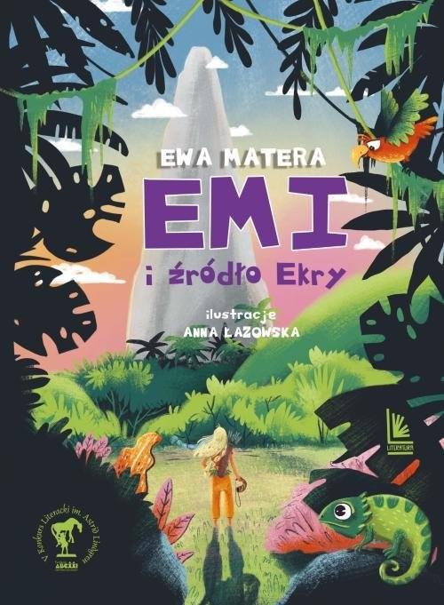 okładka Emi źródło Ekry, Książka | Matera Ewa