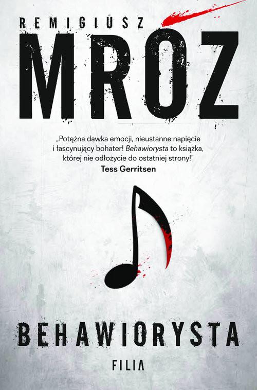 okładka Behawiorysta Wielkie Litery, Książka | Remigiusz Mróz