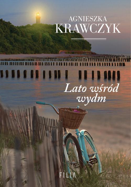 okładka Lato wśród wydm Wielkie Litery, Książka | Agnieszka Krawczyk