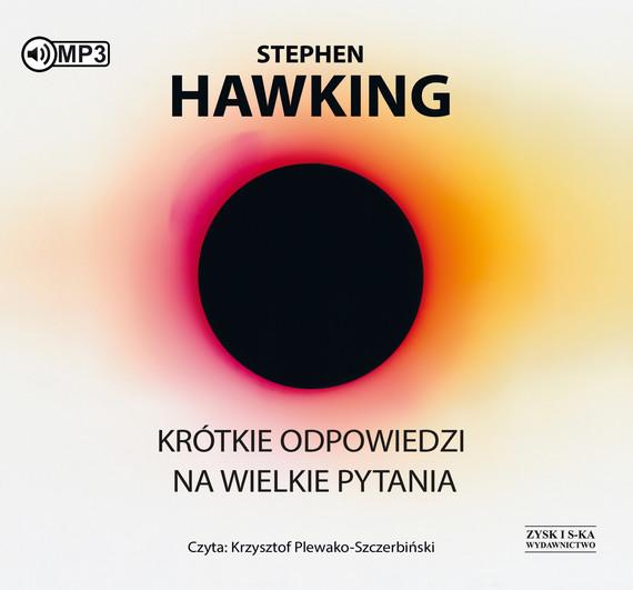 okładka Krótkie odpowiedzi na wielkie pytaniaaudiobook   MP3   Stephen Hawking
