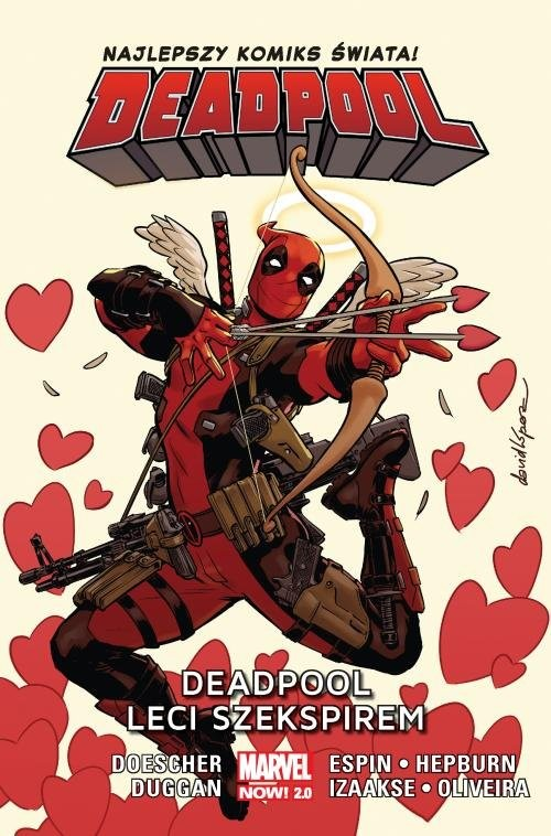 okładka Deadpool Tom 7 Deadpool leci Szekspiremksiążka |  |