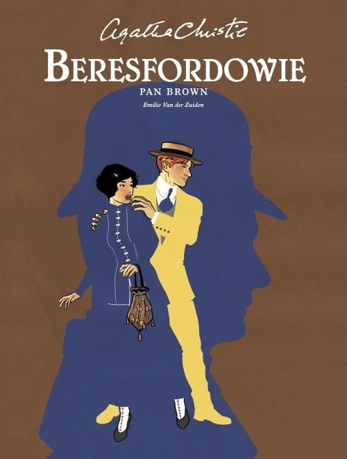 okładka Beresfordowie Pan Brown, Książka   Agata Christie