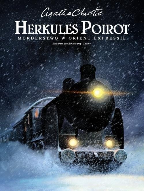 okładka Herkules Poirot Morderstwo w Orient Expressieksiążka      Agata Christie