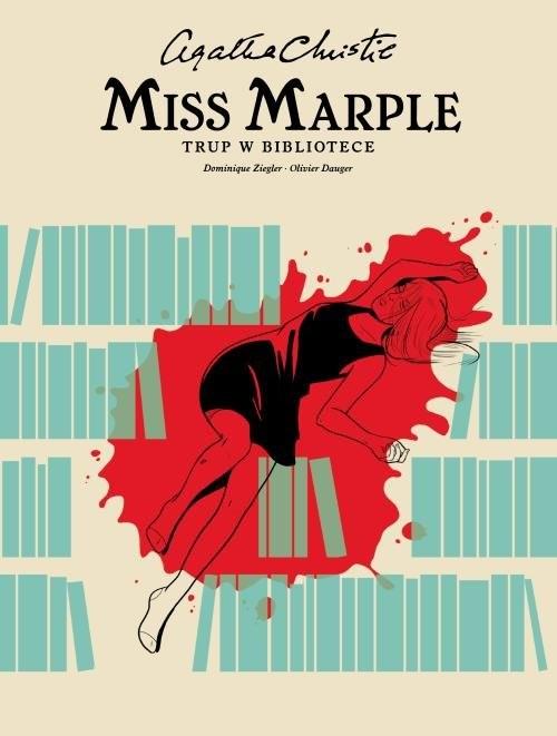 okładka Miss Marple Trup w bibliotece, Książka   Agata Christie