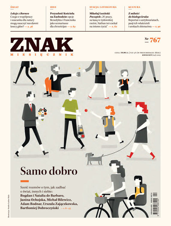 okładka Miesięcznik ZNAK nr 767, Ebook | autor  zbiorowy