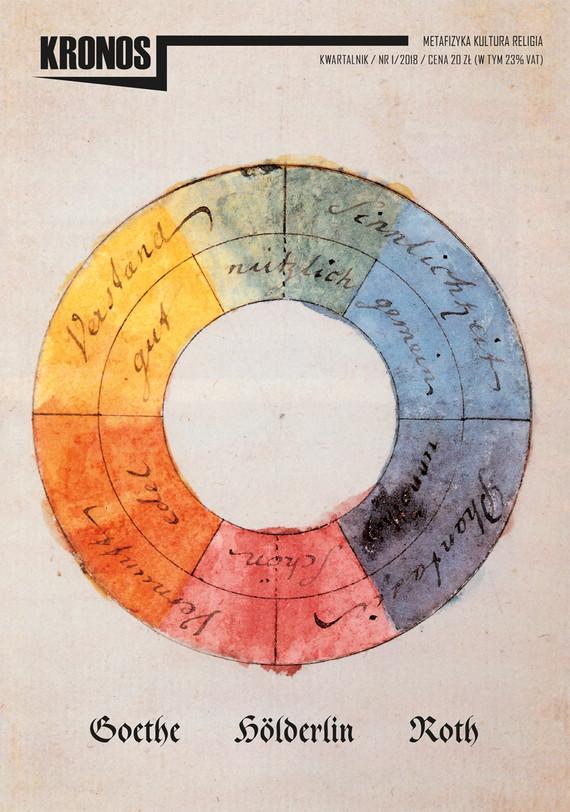 okładka KRONOS 1/2018. Goethe. Hölderlin. Roth, Ebook | publikacja zbiorowa publikacja zbiorowa